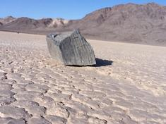 Sliding Rocks Racetrack Playa Death Valley