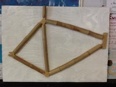 Choice Homework Bamboo Bike Model