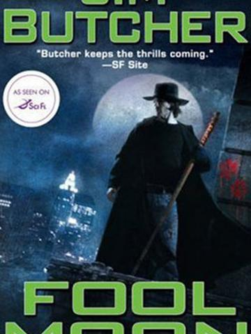 Fool Moon by Jim Butcher, from Teen Read Week