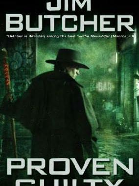 Proven Guilty by Jim Butcher, from Teen Read Week