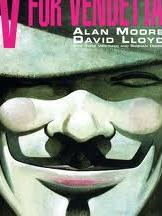 V For Vendetta by Alan Moore, from Teen Read Week