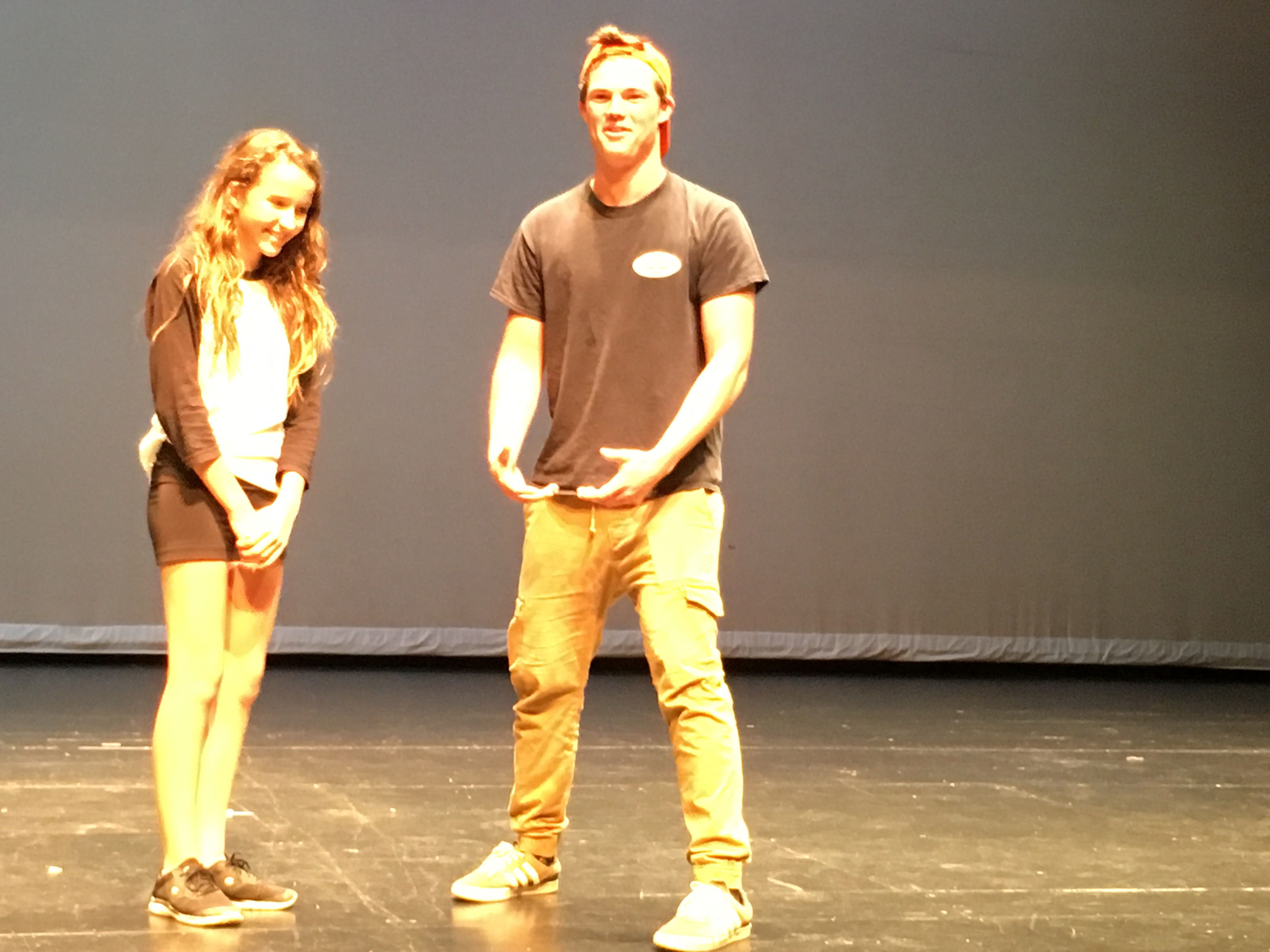 Rehearsal Games in Theater Productions